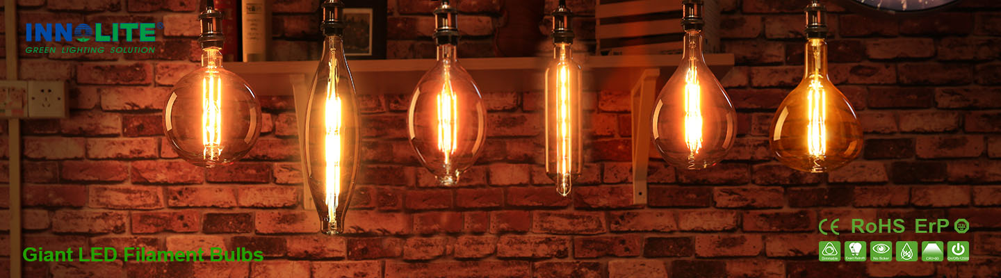 Giant LED Filament bulbs
