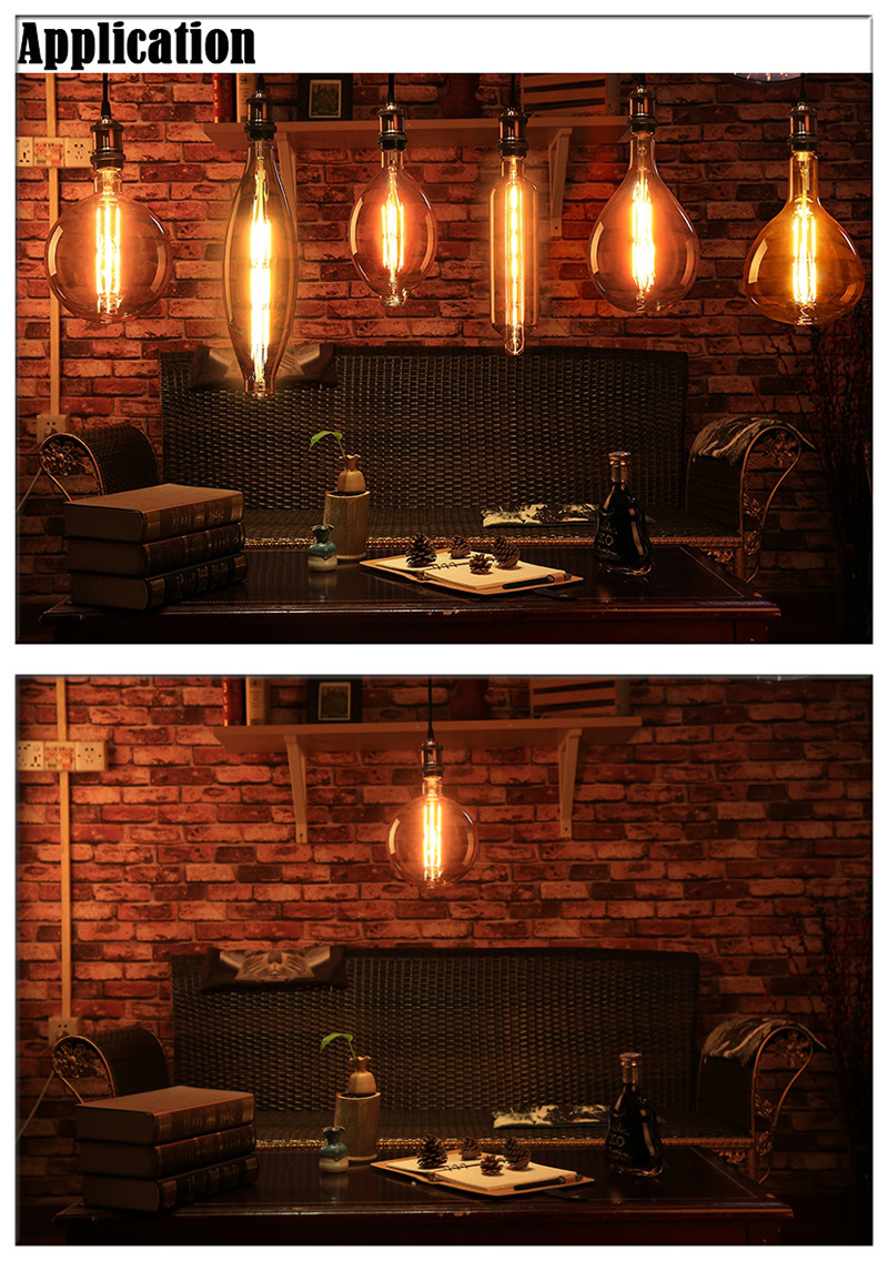 giant LED filament light bulbs Globe shape supplier china
