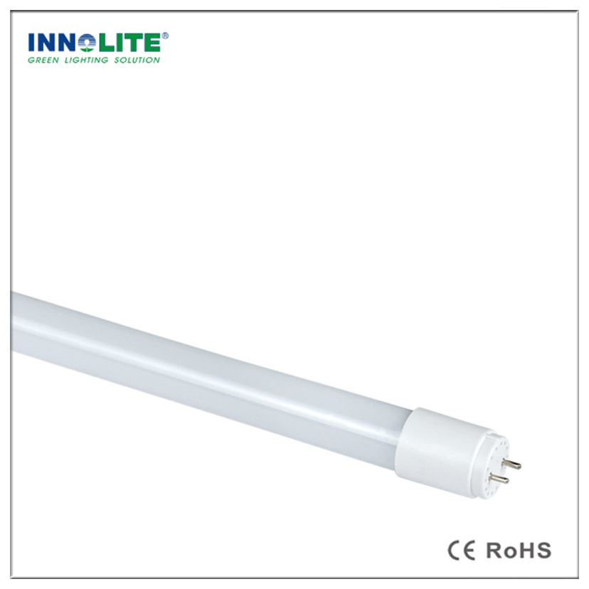 18w 4ft Glass T8 Led Tube Light 330 Degree T8 Integrated