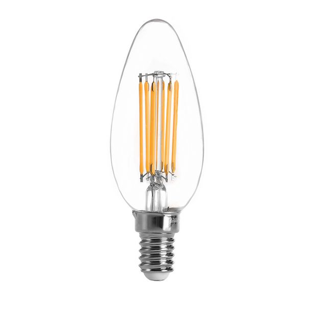 Candle Shape LED filament bulbs