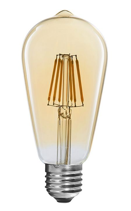 Teardrop shape LED filament bulbs from Innolite