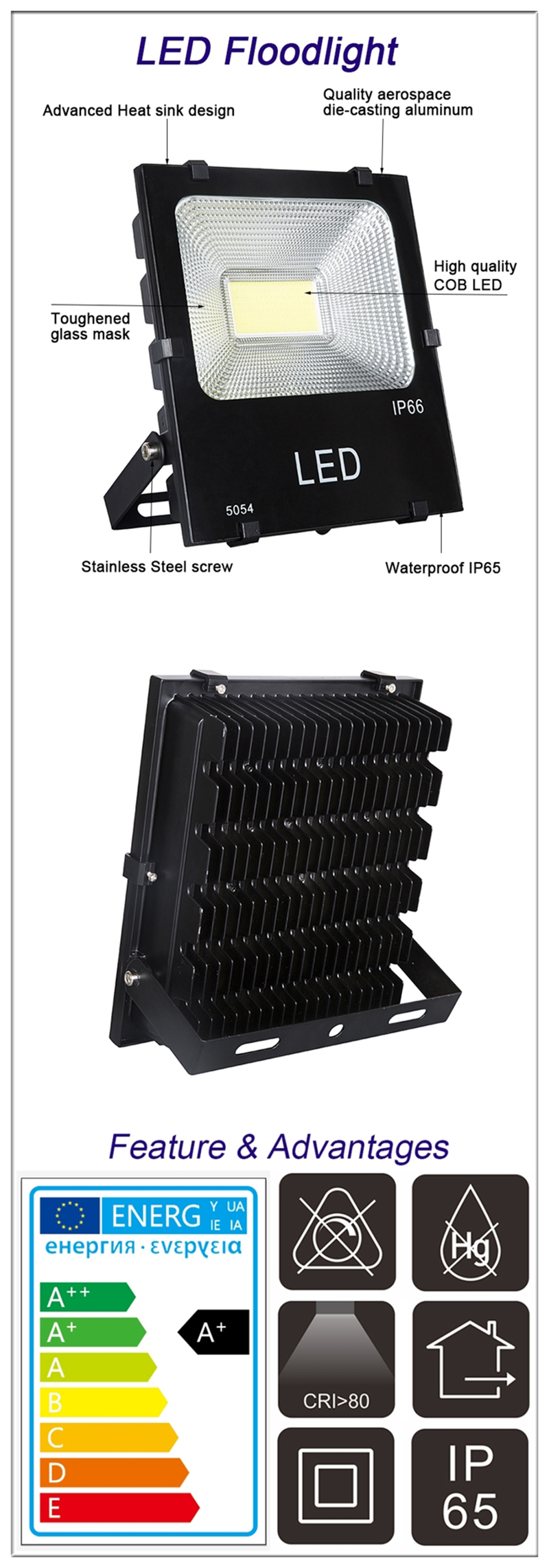china LED Floodlights COB supplier