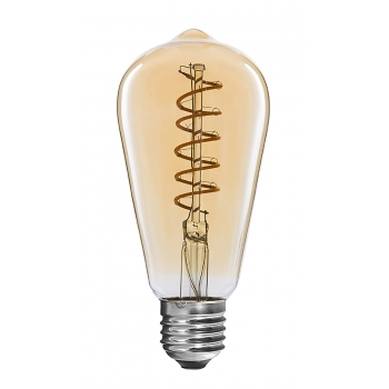 Classic Flexible LED Filament bulbs ST64 4W