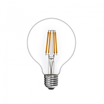 Dimmable 7W G80 Globe LED Filament Light Bulb