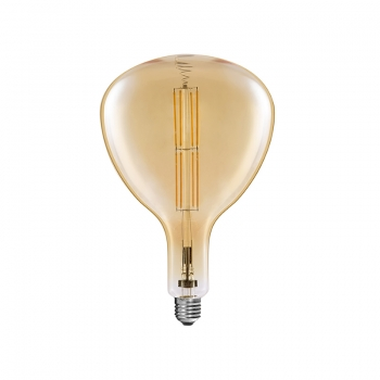 Dimmable R160 Big Size vintage LED bulbs filament  8W