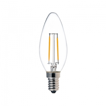 Ampoule à bougie à filament LED C32 2W