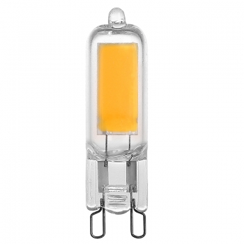 Full Glass G9 COB LED Light Bulbs 2W