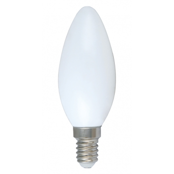 Full Glass LED Candle Light Bulbs C35 4W