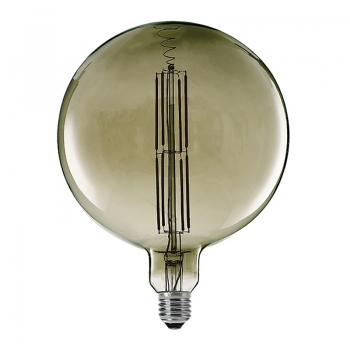 Globe 260mm filament LED bulbs dimmable