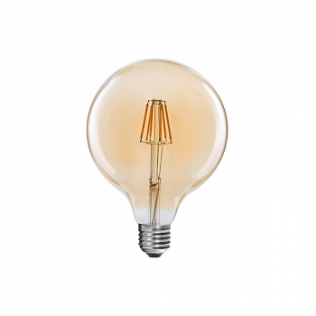 LED filament bulbs Globe G80 6W