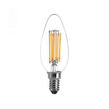 LED filament light bulb C35 5.5W