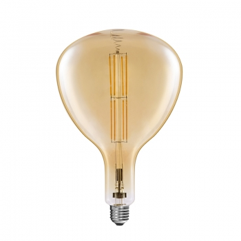 R180 Vintage giant LED filament bulbs 8W