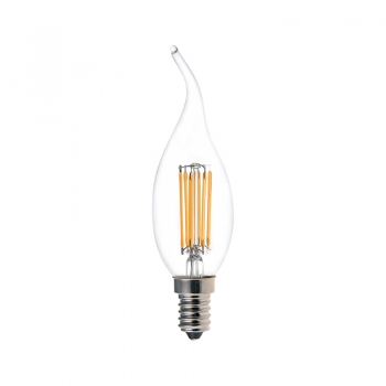 Tail candle CA32 LED filament lamps 5.5W
