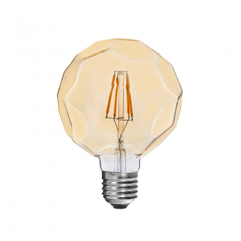 Vintage LED filament bulbs Football 4W
