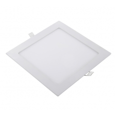 China 18W Slim Square Recessed LED panel downlights Dimmable factory