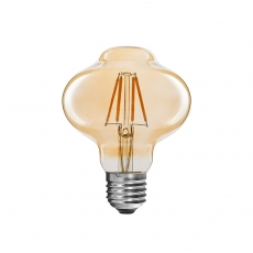Antique LED filament bulbs Lantern