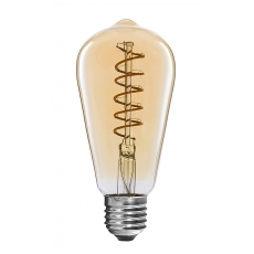 China Classic Flexible LED Filament bulbs ST64 4W factory