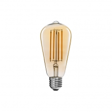Classic ST58 vintage LED filament bulbs 4W