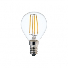 Bombilla de bola de golf de filamento LED regulable G45 P45 4W