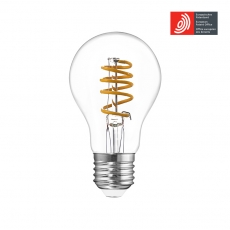 European Patented GLS A60 LED filament bulbs For home