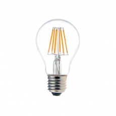 China 6W A19 LED Filament Light Bulb factory