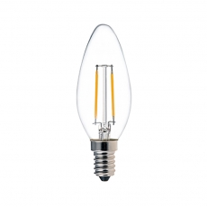 C32 2W LED Filament Candle Light Bulb