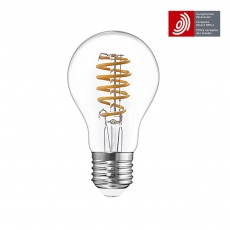 Flexible LED Filament bulb GLS A67 8W with European Patent