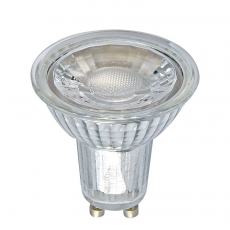 China Full Glass GU10 COB LED Spotlights 6W factory