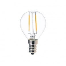 Golf Ball LED Filament Bulb G45 2W