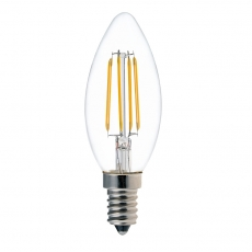 Ampoules de bougie à filament LED C35 4W