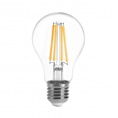 China LED Filament Light Bulb GLS A19 A60 7W factory