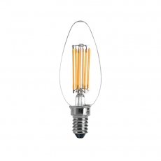 LED filament light bulb C35 5.5 W