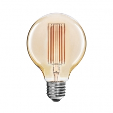 Long filaments G125 LED filament light bulbs antique