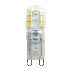 PCA plastic and aluminum G9 LED Light Bulbs 2.5W