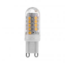 Plastic LED G9 Capsule light bulbs 4W