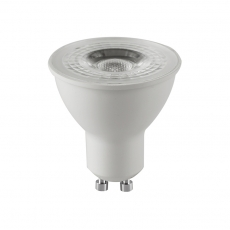 China Plastic aluminum COB GU10 LED Spotlights 6W factory