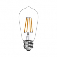 China ST58 LED filament bulb Edison style 4W clear glass factory