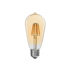 ST58 vintage LED Filament bulbs dimmable