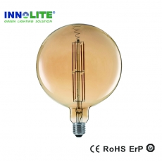 Straight filament LED bulb supplier, Globe G80 LED light supplier, China FLEX DS LED Filament bulbs manufacturer