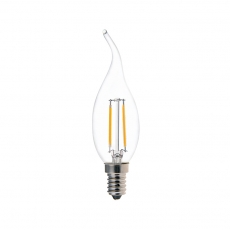 China Tail candle CA35 2W LED filament lamps factory