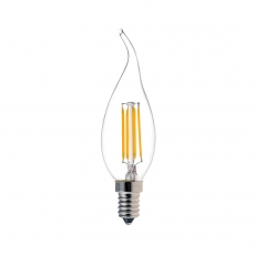 China Tailed Candle CA35 LED Filament Lamps 4W factory