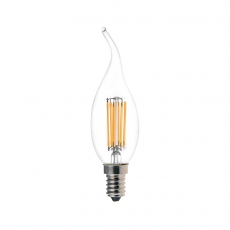 China Tailed Candle CA35 LED Filament Lamps 5.5W factory