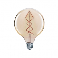 China Vintage Edison Spherical Filament Bulb G125 factory