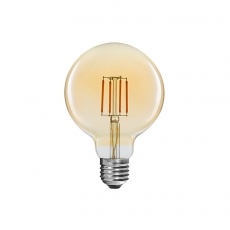 Vintage G80 4W LED filament light bulbs