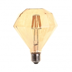China Vintage LED Filament bulbs L-Diamond LD115 factory