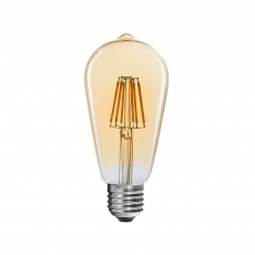 Chine Ampoules Vintage Filament LED ST64 6W usine
