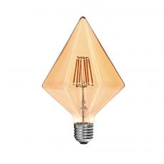 Vintage LED filament bulbs T-Diamond 4W