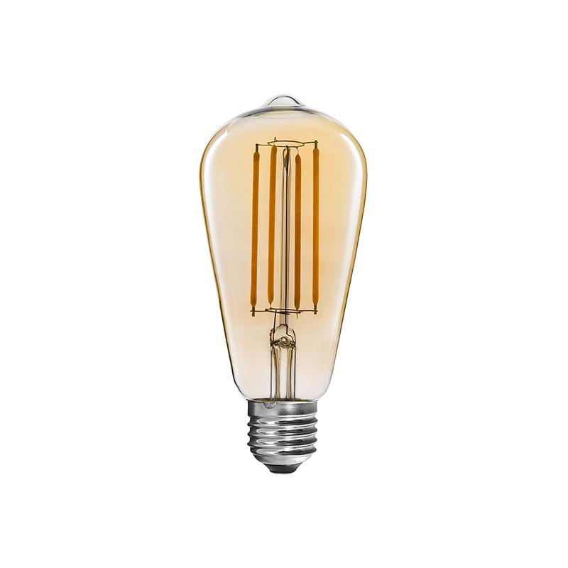 Ampoules incandescence led classique st64 4w ampoules incandescence led fabricant - Lampe a incandescence classique ...